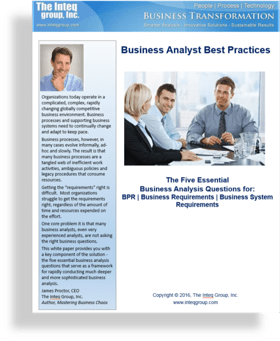 Business Analyst Interview Questions Geekinterview Business Analyst Questions Inteq Whitepaper Pdf
