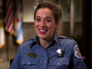Police Officer Girl Wallpaper Chicago P D Marina Squerciati Kim Burgess Trailer 2014