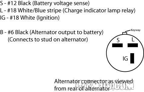 Isuzu alternator wiring - Defender Forum - LR4x4 - The Land Rover Forum