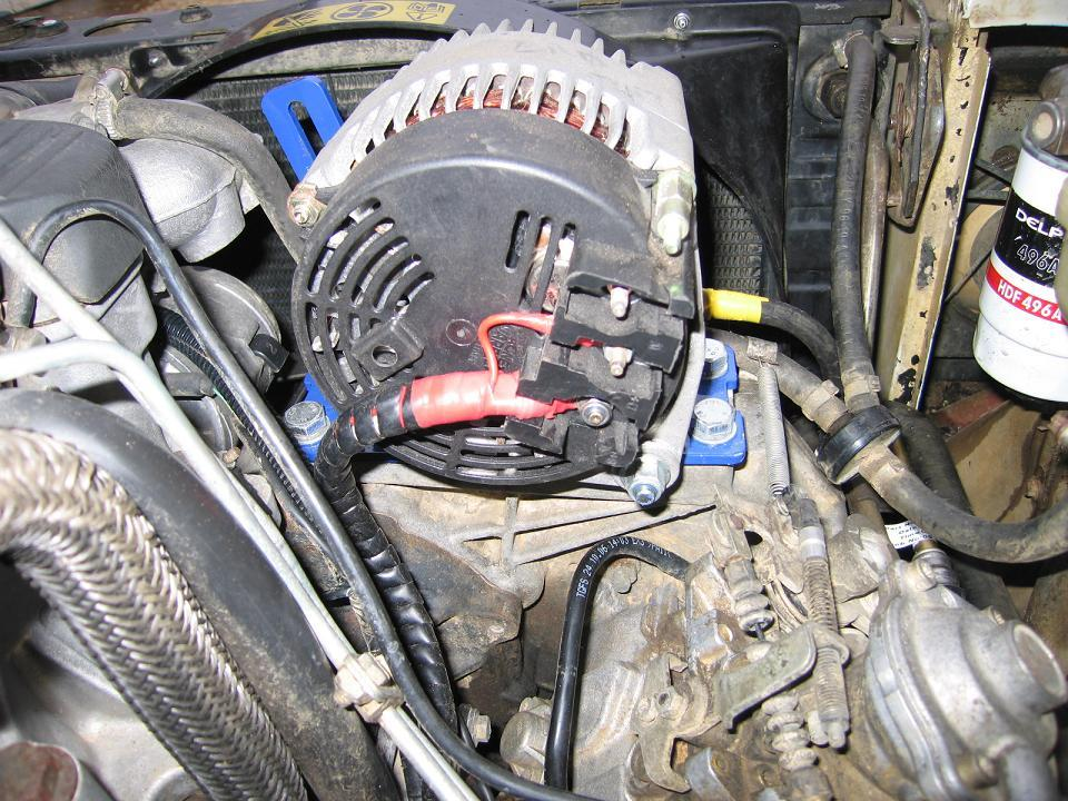 300TDi twin Alternator setup - International Forum - LR4x4 - The