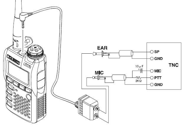 yaesu mic wiring diagram