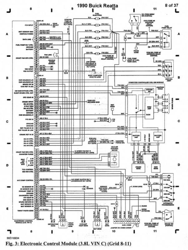 90 Reatta wiring diagram - Buick Reatta - Antique Automobile Club of