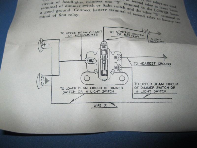 6V fog light wiring - Technical - Antique Automobile Club of America