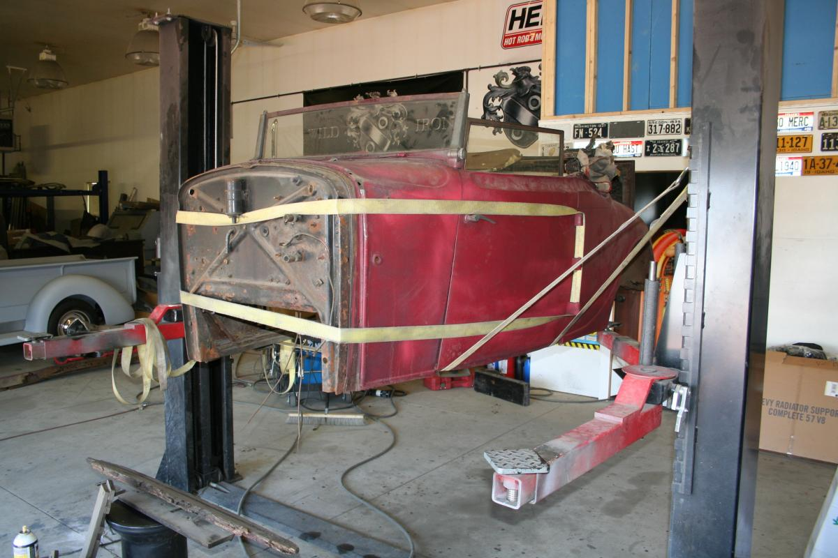 In Ground Garage Car Lift Xander Wildeisen S Content Page 16 Antique Automobile Club Of