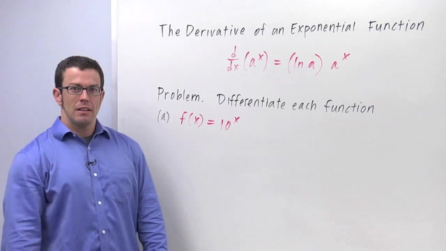 Derivatives of Exponential Functions - Problem 1 - Calculus Video by