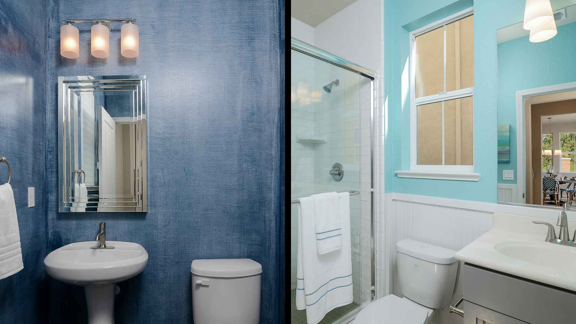 Blue Bathrooms Pictures Homes With Blue Bathrooms Sell For More Study Finds