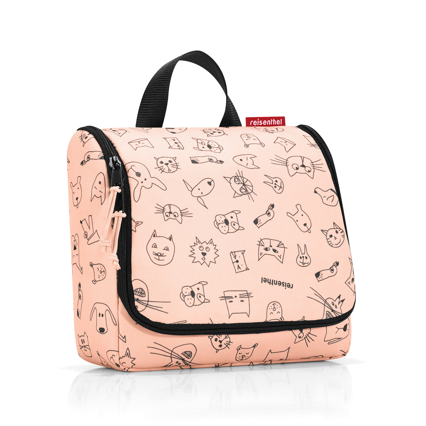 Kulturbeutel Kinder Reisenthel Kids Toiletbag Kulturbeutel Cats And Dogs Rose