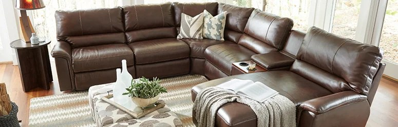 Sectional Sofas \ Sectional Couches La-Z-Boy - lazy boy living room sets