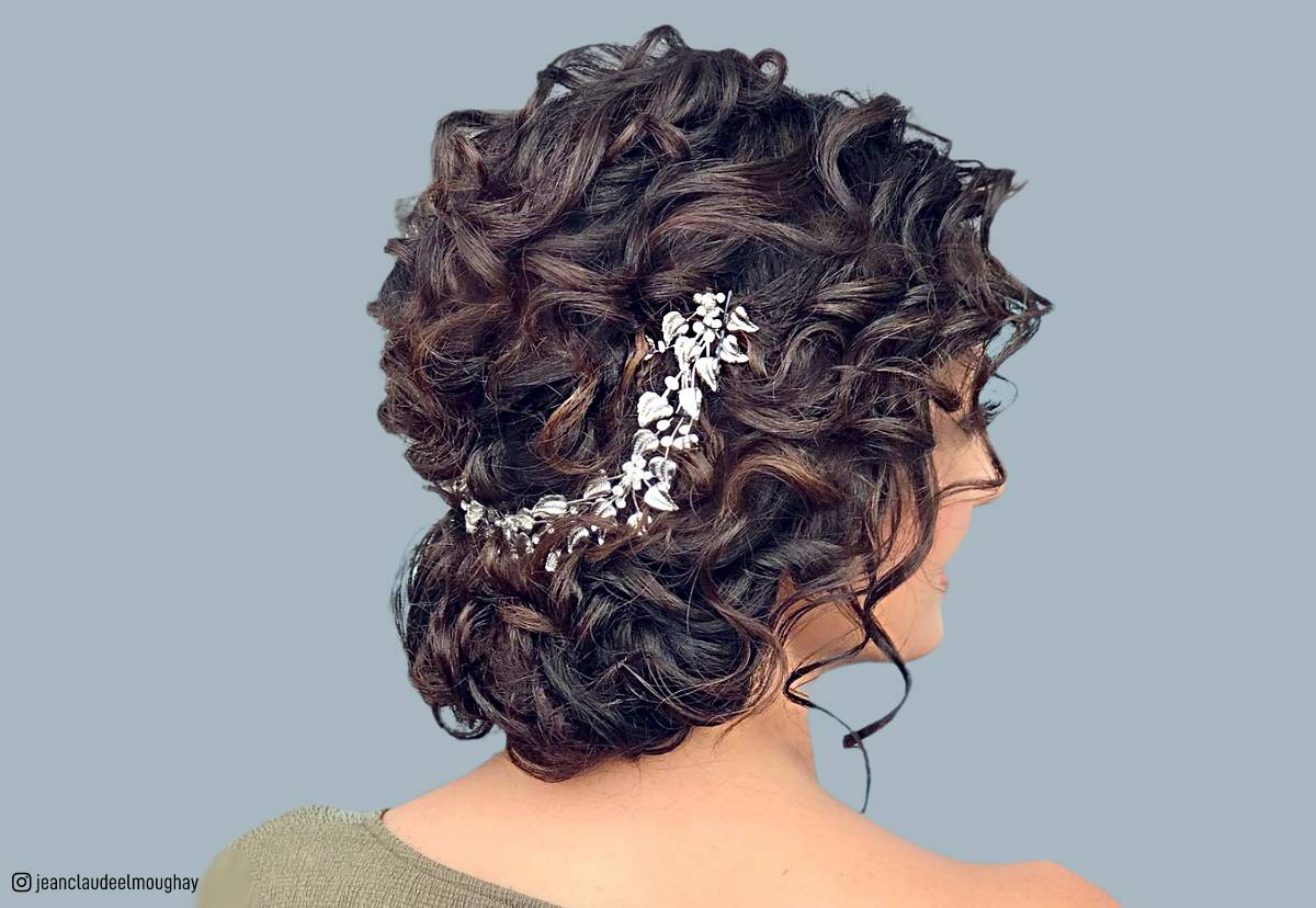 Curly Hair Length Chart 18 Stunning Curly Prom Hairstyles For 2019 Updos Down