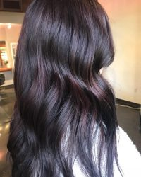 29 Vibrant Dark Hair Colors to Try in 2018