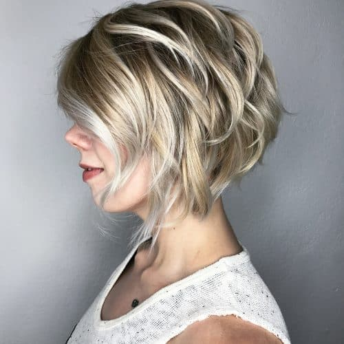 Short Hairstyles For Fine Hair Easy 17 Cute Short Layered Bob Haircuts That Are Easy To Style