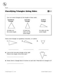 Classifying Triangles By Angles Worksheet 4th Grade ...