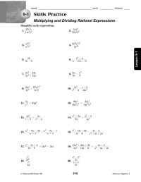 Simplifying Radical Expressions Worksheet Answers ...