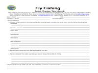 Printables. Fishing Merit Badge Worksheet. Mywcct ...