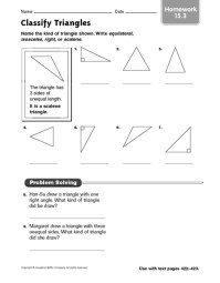 All Worksheets  Classifying Triangles Worksheets ...