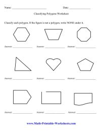Polygon Worksheet Free Worksheets Library | Download and ...