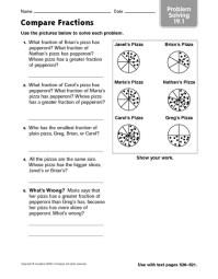 Pre School Worksheets  Fraction Worksheets 3rd Grade Word ...