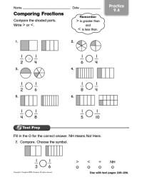 Number Names Worksheets  Comparing Fractions Worksheet ...
