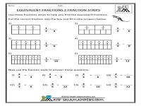 Fraction Bars Printable Worksheets - shade the fraction ...