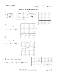 Area Model Multiplication Worksheets - multiplication ...