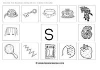 Number Names Worksheets  Initial Sounds Worksheets - Free ...