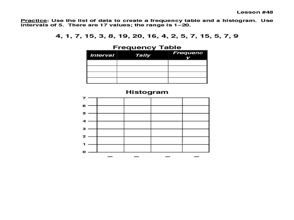 worksheet Bar Graphs And Histograms Worksheets workbooks histograms worksheets free printable for interpreting worksheet phoenixpayday com