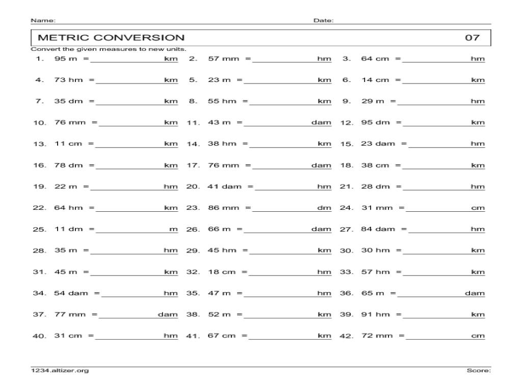 worksheet Customary Conversion Worksheet customary units conversion worksheet abitlikethis metric quiz printable mikyu free