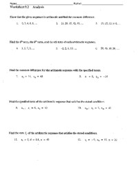 Counting Number worksheets  Sequences Worksheets Year 2 ...