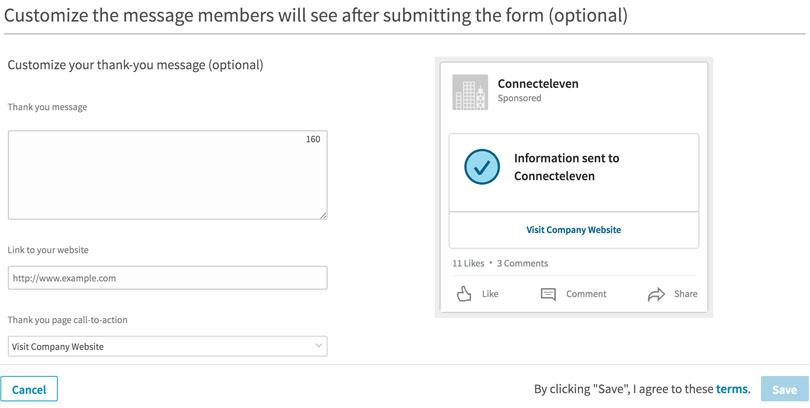 How to Use LinkedIn Lead Gen Forms LinkedIn Marketing Blog