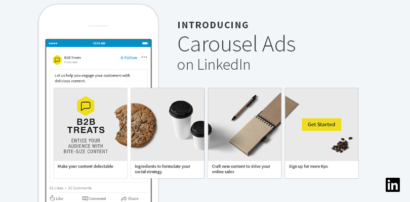 Introducing Carousel Ads on LinkedIn LinkedIn Marketing Blog