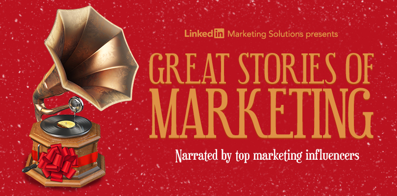 Our Gift to You Great Marketing Stories Read by Top Influencers