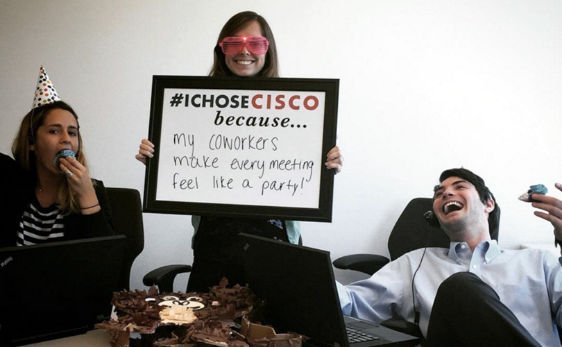 How Cisco Completely Turned Around Its Employer Branding on Social