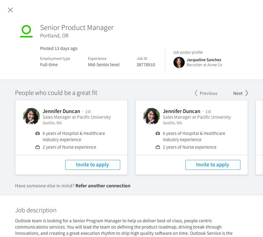 A Look at How LinkedIn is Using LinkedIn Referrals LinkedIn Talent