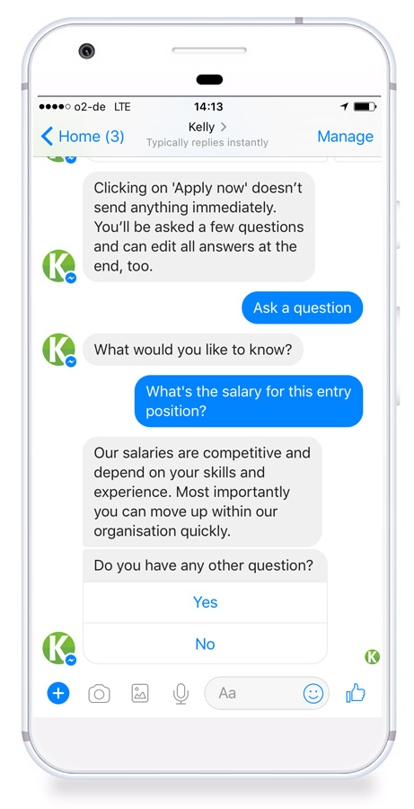 Recruiting Chatbots Won\u0027t Take Your Job, But They Will Make It