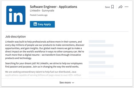 Implementing Instant Job Listing Pages LinkedIn Engineering - how to search resumes on linkedin