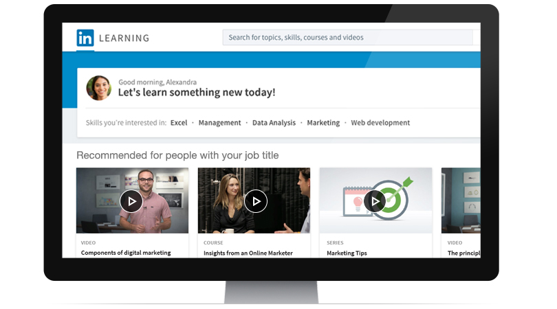 Launching LinkedIn Learning