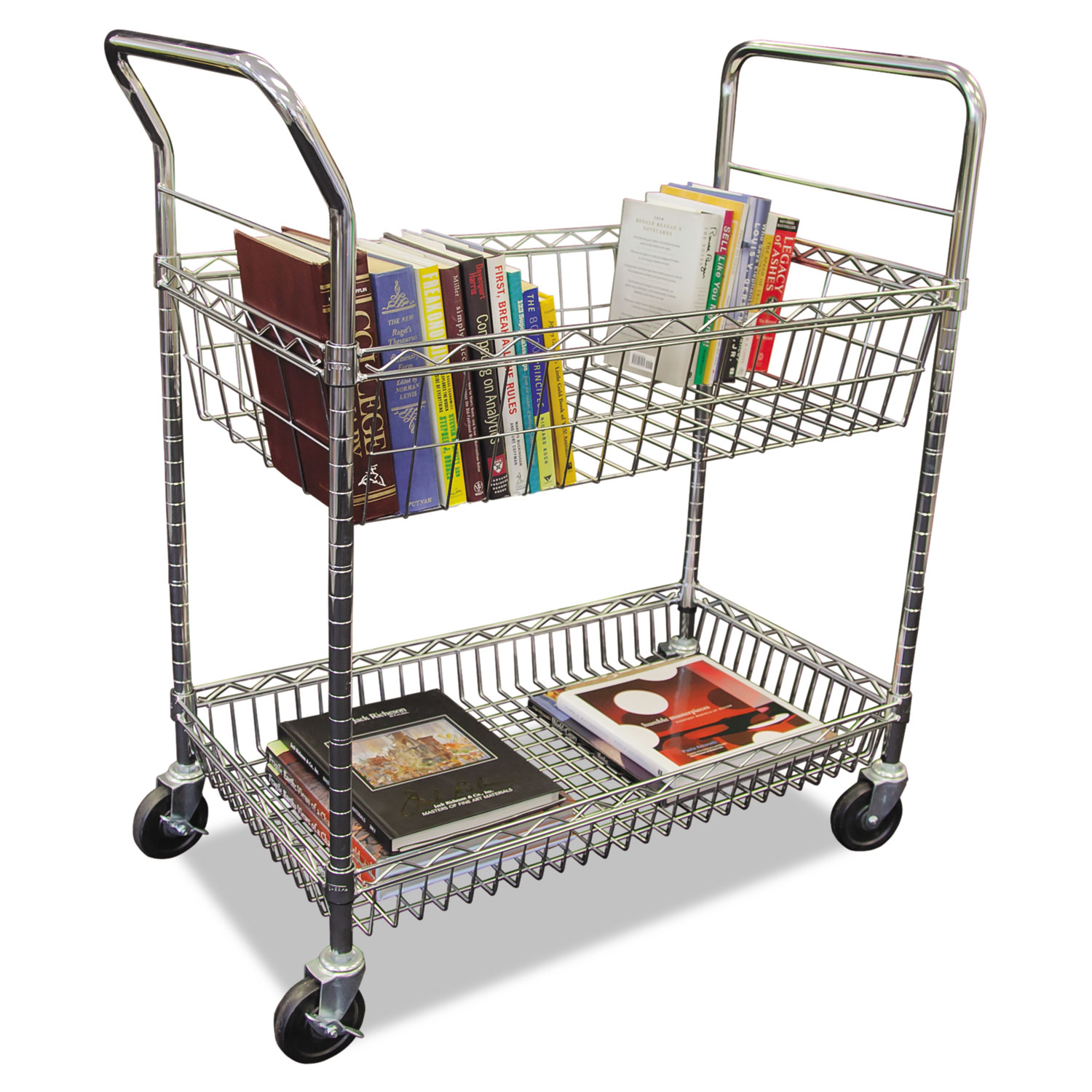 Libro The Wire Carry All Cart Mail Cart By Alera Alemc3518sr