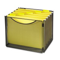Desktop File Storage Box by Safco SAF2170BL ...