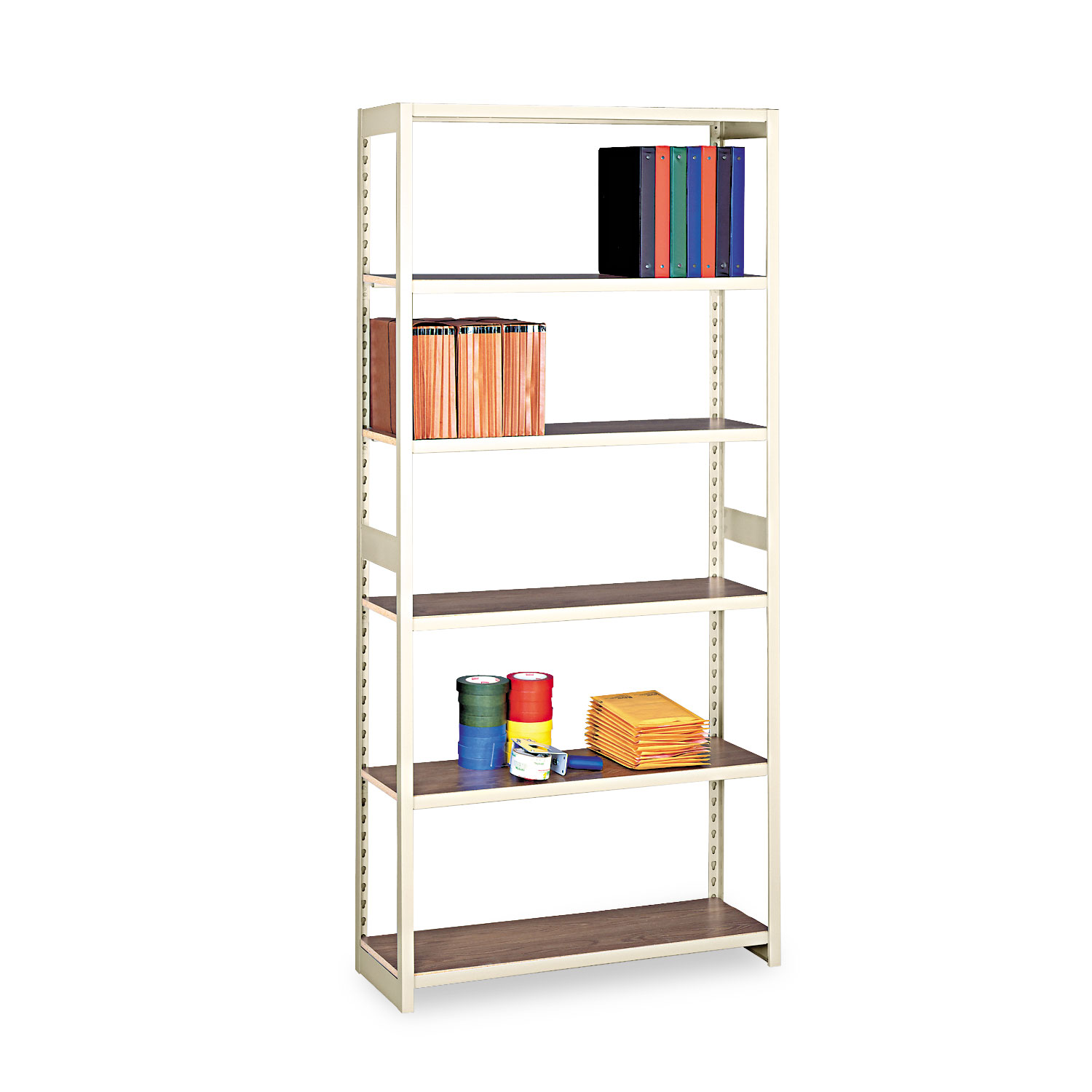 Regal Shelfy Regal Shelving Starter Set By Tennsco Tnnrgl1536ssd