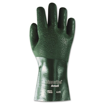 Snorkel Chemical-Resistant Gloves by AnsellPro ANS441210