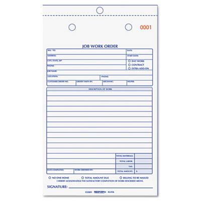 printable work order forms - Nisatasj-plus
