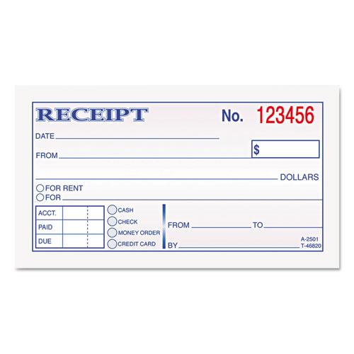 rent receipt book template - house rental receipt