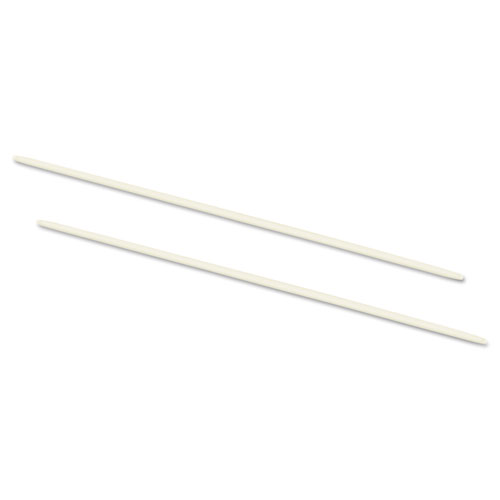 Data Flex 8-1/2 Nylon Posts For Top/Bottom Loading Binders, 6\