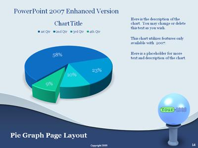Stand Out - A PowerPoint Template from PresenterMedia - 3d powerpoint template