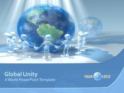 Global Unity - A PowerPoint Template from PresenterMedia - global powerpoint template