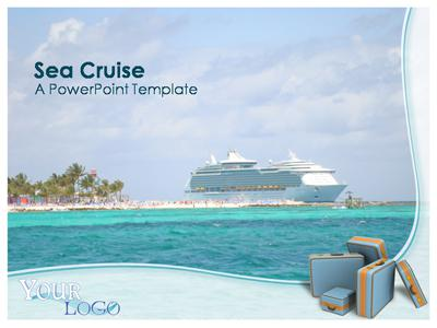 Sea Cruise - A PowerPoint Template from PresenterMedia