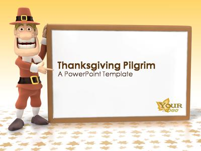 Turkey Day - A PowerPoint Template from PresenterMedia