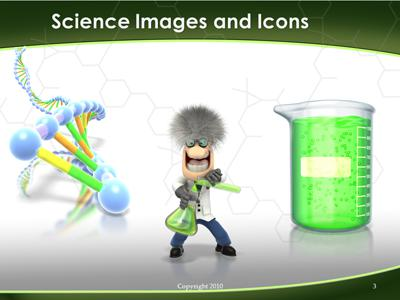 Scientist Science Experiments - A PowerPoint Template from