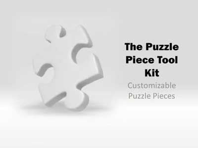 Puzzle Piece Tool Kit - A PowerPoint Template from PresenterMedia