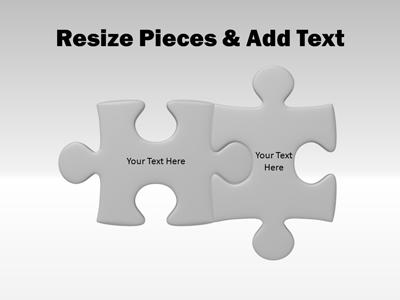 Puzzle Piece Tool Kit - A PowerPoint Template from PresenterMedia - puzzle powerpoint template